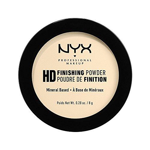 NYX PROFESSIONAL MAKEUP High Definition Finishing Powder, Banana, 0.28 Ounce