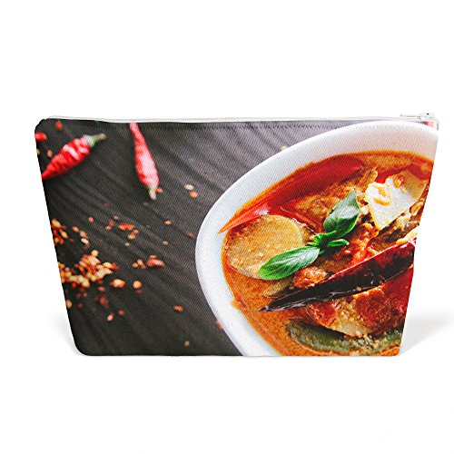 Westlake Art - Food Pepper - Pen Pencil Marker Accessory Case - Picture Photography Office School Pouch Holder Storage Organizer - 13x9 inch (4DFDF)