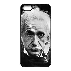 iPhone 4 4s Cell Phone Case Black Einstein 002 Delicate gift JIS_402125