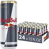 Red Bull Total Zero, Energy Drink, 12 Fl Oz Cans, 24 Pack