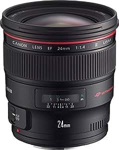 Canon EF 24mm f/1.4L USMLens,Black(EF2414LII)