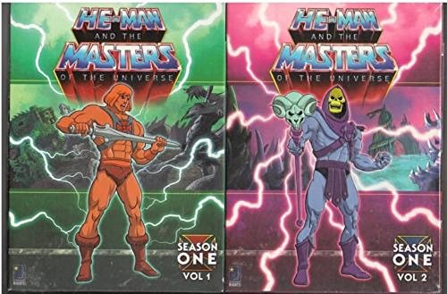 He Man Masters Universe - He-Man and the Masters of the Universe Complete Season 1, Vol 1 & Vol 2 (2 Box Sets) (Collector's Edition)