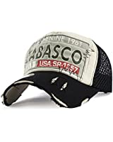 EASTONE Embroidery Tabasco Baseball Cap Meshed...