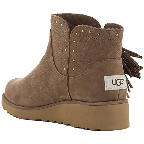 UGG Australia Womens Cindy Dark Chestnut Leather Boots 40 EU k2ZzA