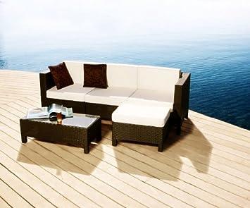 Enzo Fratelli - Salon de jardin HAWAI - 2 fauteuils d\'angle ...
