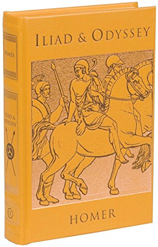 Iliad & Odyssey (Leather-bound Classics) -