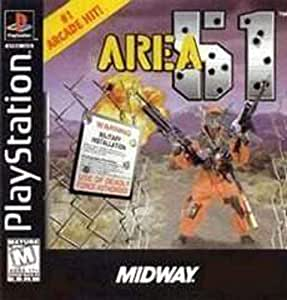 Amazon.com: Area 51: FOR SONY PLAYSTATION BY MIDWAY: Video