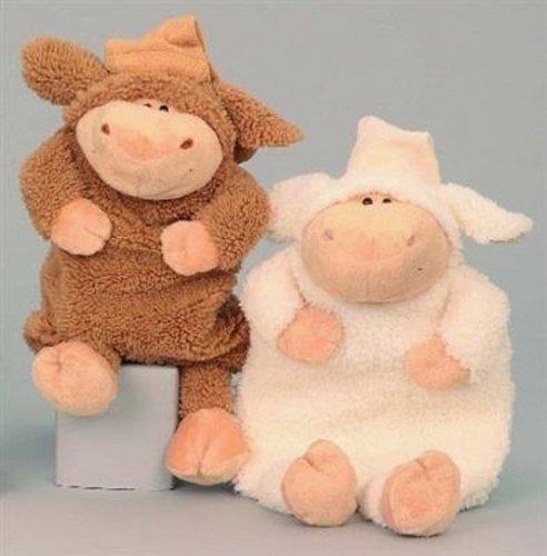 Flauschiges Plüsch-Schaf als Wärmflasche - für Babys und Erwachsene - super süß und warm