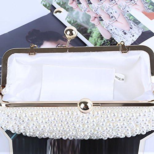 Borsa Da Sera Borsa della frizione di sera della borsa della frizione della borsa della frizione della perla delle donne adatta per il partito & nozze che datano Abbinamento Perfetto Per Abiti Da Nott