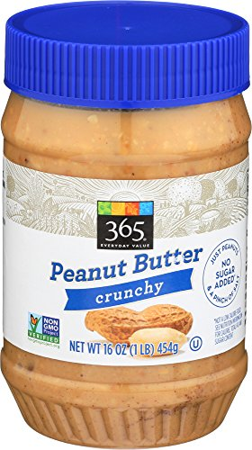 (365 Everyday Value, Peanut Butter Crunchy, 16 Ounce)