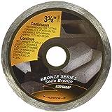 EAB Tool 2118851 3 3/8'' Continuous Wet Cut Bronze Diamond Blade