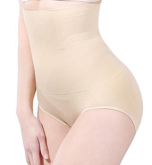 285d8a5df9588 YUNY Womens Tummy Control Body Shapewear Panties Sliming Shaper Briefs  Apricot Medium at Amazon Women s Clothing store