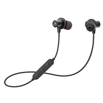 Auriculares Bluetooth Sport, RAVEtone Auriculares inalámbricos con cancelación de ruido en la oreja Secure Fit