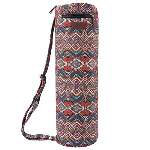 "REEHUT Yoga Mat Bag 26"" L x 6.8"" D, Multi-Functional Storage"