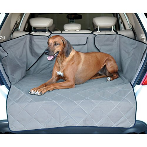 K&H Pet Products Quilted Cargo Pet Cover & Protector Gray (Trunk Wagon Liner)