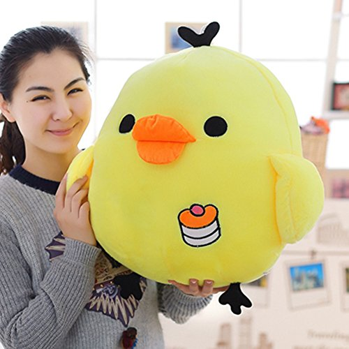 ETbotu Chick Stuffed Toy Lovely Medium Plush Doll Cushion Yellow 50CM