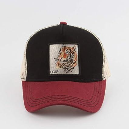 Yhtdhaq Moda Tigre Animal Bordado Gorras de béisbol Hombres ...