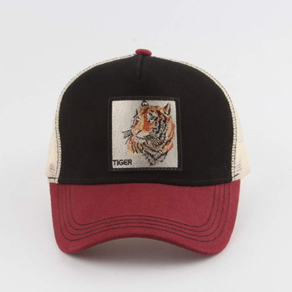 SADUZI Baseballm/ütze Tierkappe Bestickte Baseballm/ütze M/änner Frauen Hysteresenhut Hip Hop Sommer Atmungsaktives Mesh Trucker Hat