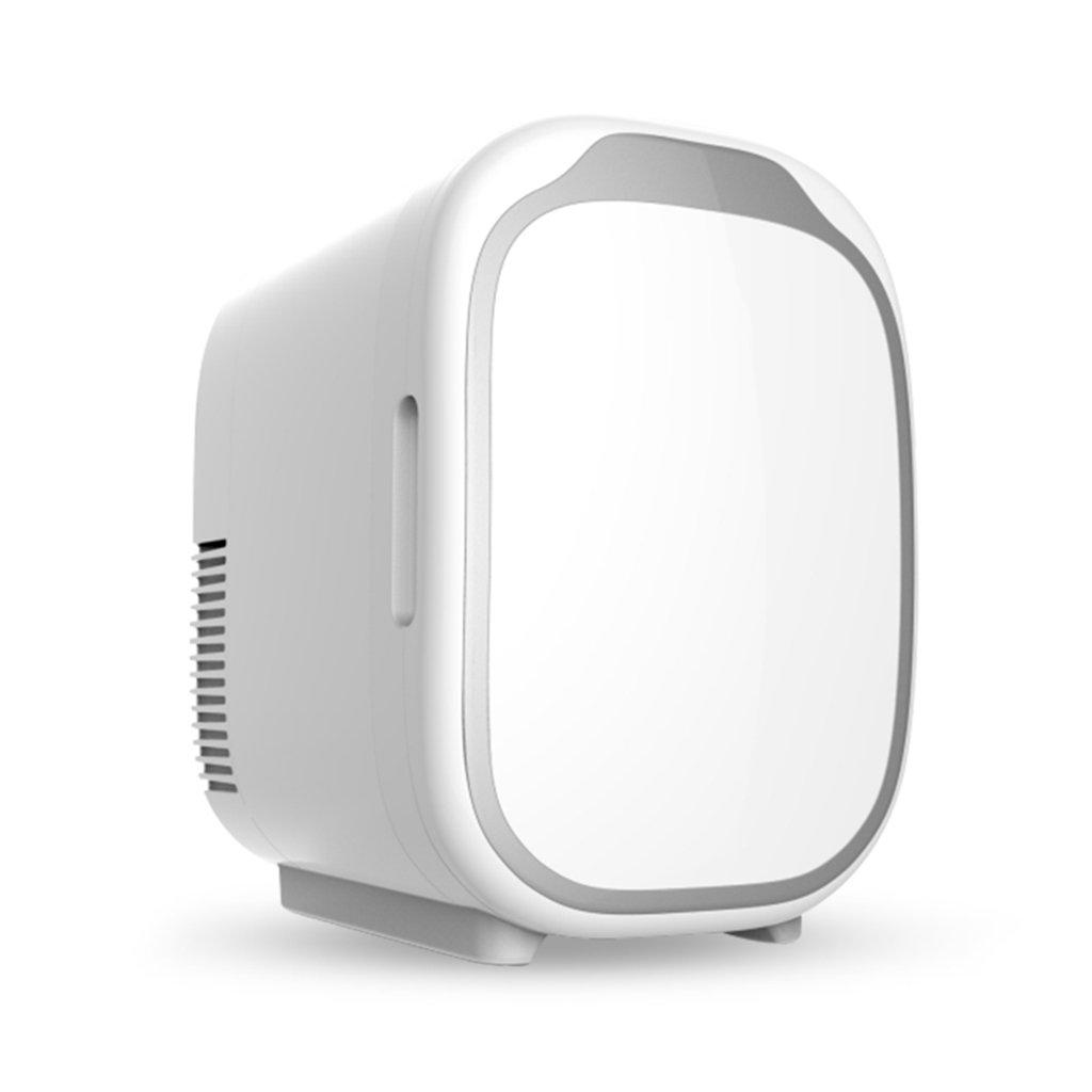車ミニ冷蔵庫シングルドア冷蔵庫家庭用小型電子冷凍庫オフィス高速冷却暖房白6L   B07F1JZVNL
