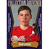 David Legwand Hockey Card 1999 Quebec Pee-Wee Tournament Collection #23 David Legwand