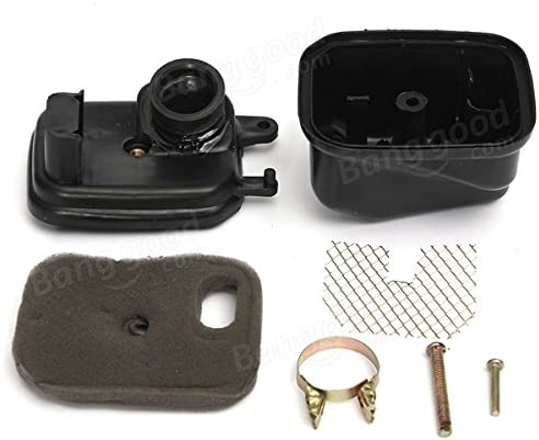 Pink Lizard Air Filter Box Assembly For Yamaha PW50 PY50 PW PY Piwi 50 1984-2004
