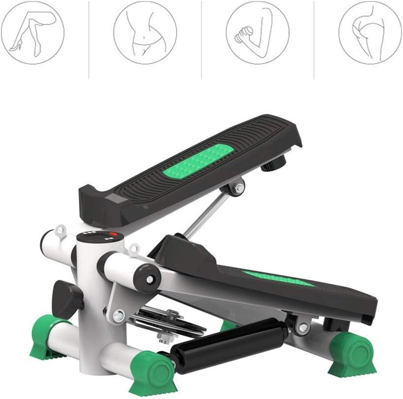 ZY Stepper Fitness Ejercicio Cardio Trainer Pedal Ejercitador Autom/ático Mini Pedales Ejercicios Equipo Ajustable Resistencia para El Ejercicio En La Oficina Y En El Hogar