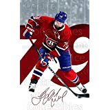 Andrei Markov Hockey Card 2016-17 Montreal Canadiens Postcards #11 Andrei Markov