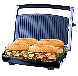ZZ SM303 Burger Grill, Sandwich Maker, Panini Press, Steaks Griller or Grill, Silver