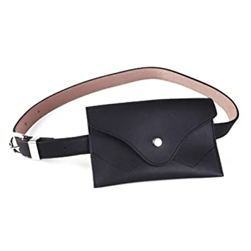 e98a191dfe5 Leather Fanny Pack for Women Bumbags for Ladies with Adjustable ...