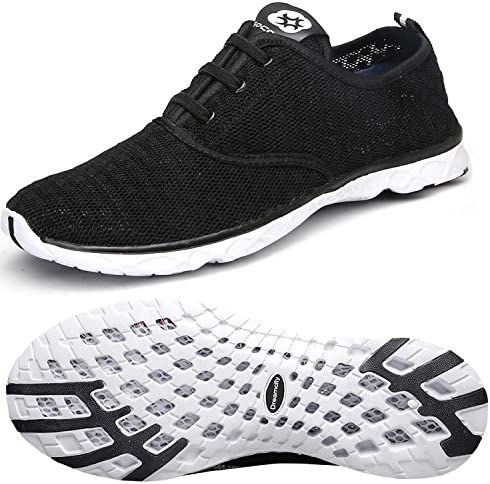 Dreamcity Men Water Shoes Athletic Sport Lightweight Walking Shoes