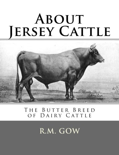 About Jersey Cattle: The Butter Breed of Dairy Cattle, used for sale  Delivered anywhere in USA