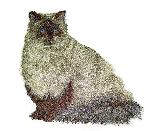 Amazing Custom Cat Portraits[Himalayan Cat] Embroidered Iron On/Sew patch [4.5