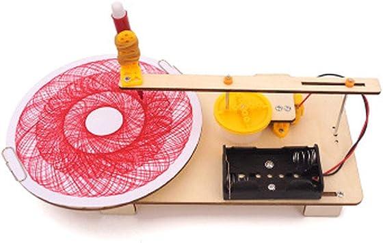 WZ Plotter Automático Tecnología DIY Pequeña Producción Invención Ciencia Juguetes Educativos Niños Y Niñas Regalos Mayores De 7 Años: Amazon.es: Deportes y aire libre