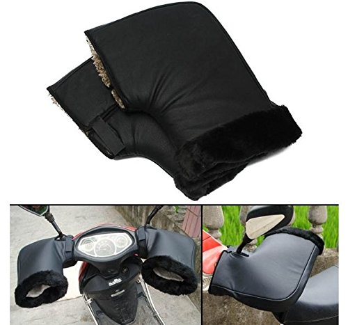 MD Group Motorcycle Thermal Handle Bar Gloves Waterproof Winter Warm Protective Gear