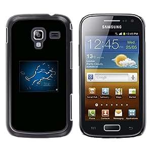 iKiki Tech / Estuche rígido - Detroit Lion NFL - Samsung Galaxy Ace 2