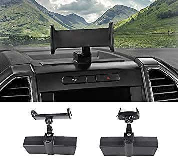 Ipad Holder Nicebee Car GPS Mobile Phone Ipad Holder Bracket Cellphone Stand Stickers for Ford F150 2015-2018