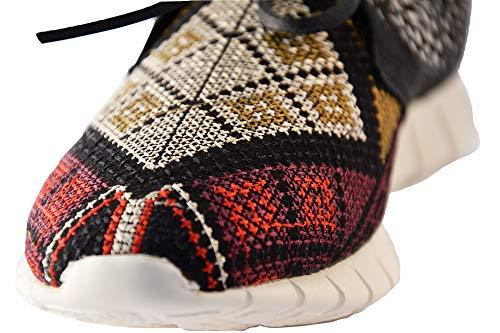 SOYA 37 Sneakers ROSTO Piuma FISH Nero Scarpe Donna 171554 nwBUpHZq
