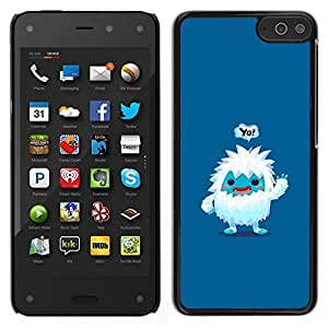 Smartphone duro PC Carcasa Funda protectora para Amazon Fire Phone/Phone Case TECELL Store/Cute Jeti