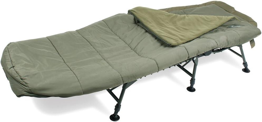 Nash H-Gun 3 Sleep System Bedchair - Saco de dormir momia para acampada: Amazon.es: Deportes y aire libre