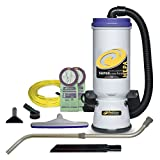 vacuum backpack cleaner - ProTeam Backpack Vacuums, Super CoachVac Commercial Backpack Vacuum Cleaner with HEPA Media Filtration and Telescoping Wand Tool Kit, 10 Quart, Corded