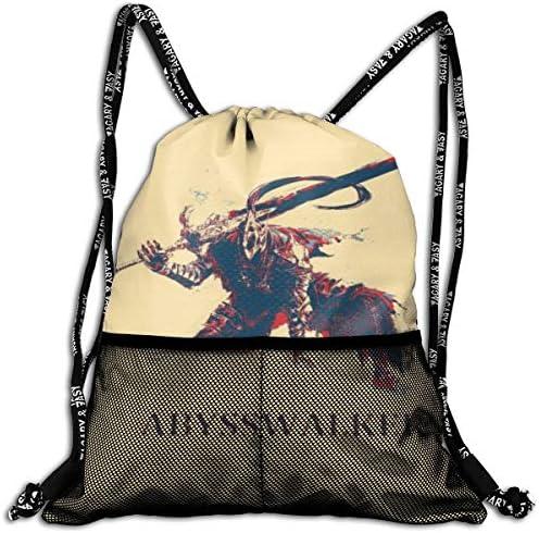 ダークソウルdark Souls 3 大容量 クファッション印刷 バックパッ男女兼用 バックパック小新鮮 旅行スポーツバッグ 防水スイミングバック学生バッグ 多機能 収納バックパッ通勤 大容量 男女兼用 バックパック