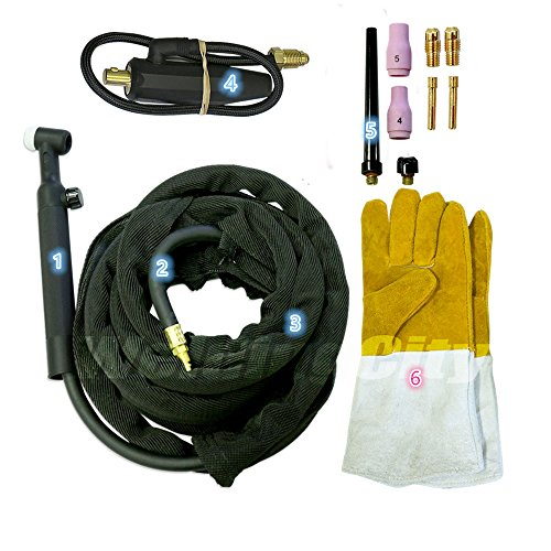 tig torch complete package - 4
