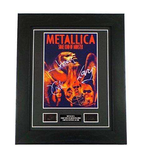 artcandi Metallica Signed + Original Film Footage Framed