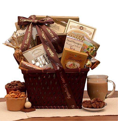 Deepest Sympathy Gift Basket - Sending Thoughts and Prayers Sympathy Gift Basket