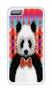 Geo Panda Custom iPhone 5C Case Cover TPU White