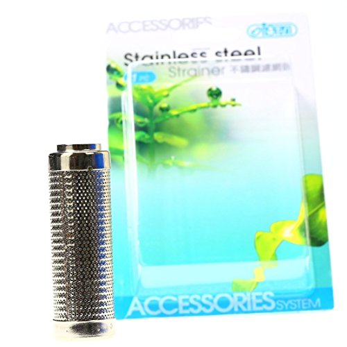 - ISTA Stainless Steel Metal Filter Strainer Pipe for Aquarium Fishtank Water Tube Hose (for 16mm pipe)