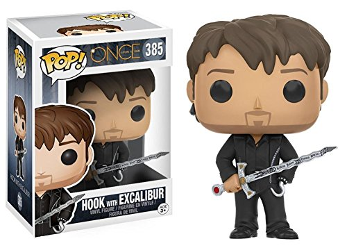 Funko - Figurine Once Upon A Time - Hook With Excalibur Pop 10cm - 0889698108492