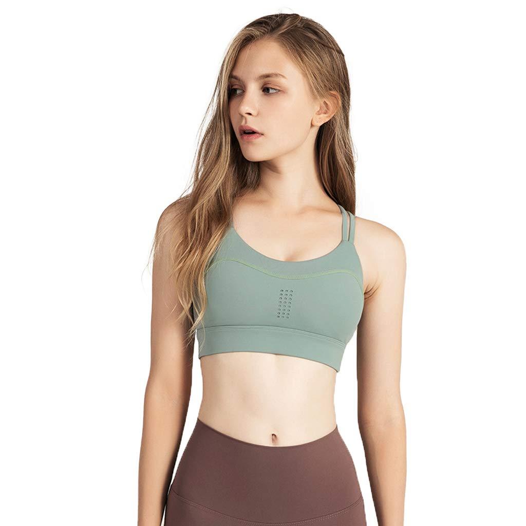 LOGYIO Mini-Leibchen-BH, Alltags-Sport-BHS, bequem und atmungsaktiv, für Damenunterwäsche, Laufbekleidung