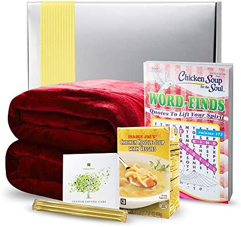 Get Well Gifts Basket Box