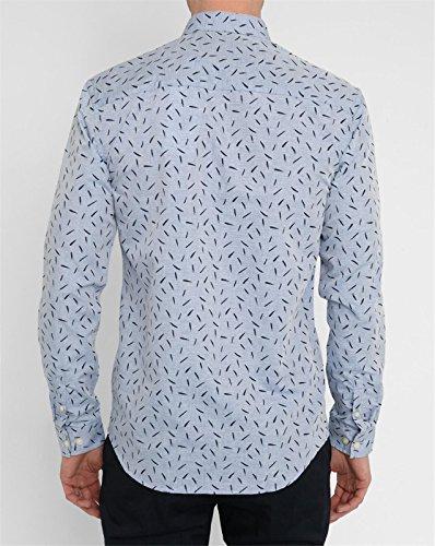 MINIMUM - - Homme - Chemise Button Down Bleu Trait Noir Delancey pour homme